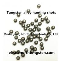 Wholesale Tungsten alloy ball, shot, sphere,hunting shot, shotgun shell, pellet from china suppliers