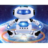 Wholesale New Electric Robot Children's Toy Space Dancing Electric Robot 360 Degree Rotating Light Music Toy from china suppliers