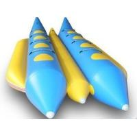 Wholesale 8 Person Double Lane Water Inflatable Banana Boat With PVC Tarpaulin from china suppliers
