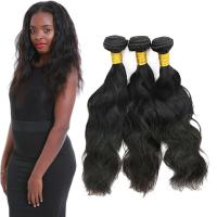 Wholesale Real Thick Natural Wavy Hair Extensions Customized Length Fashionable Color from china suppliers