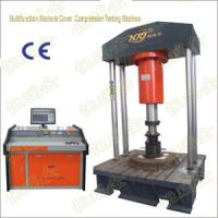 China Computer Control Multifuntion Manhole Cover Compression Testine Machine on sale
