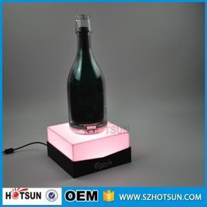 Quality Custom acrylic e liquid display stand LED e liquid bottle rack for sale