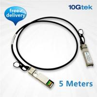 Wholesale 10G SFP+ Copper direct-attached Twinax cable 5 Meters, Passive (CAB-10GSFP-P5M) from china suppliers
