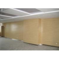 Buy cheap Decorative Wooden Grooved Acoustic Panel , 2440 * 128 * 15mm from wholesalers