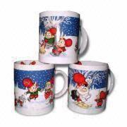 China Sell Musical Mug,Ceramic Mug,Christmas Gift,Promotional Gift on sale