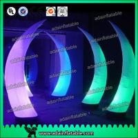 Wholesale Event Party Entrance Decoration Inflatable Tusk Pillar Lighting Inflatable Column from china suppliers