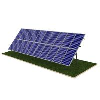 Wholesale Steel Pile Solar Panel Ground Mounting Systems Rapid Installation 20M Max Building Height from china suppliers
