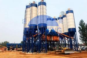 Wholesale HZS120 Wet Mix Concrete Plant, JS2000 Automatic Aggregate Industries Concrete Plants from china suppliers