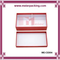 Wholesale Two pieces candle box/Top and bottom paper gift box, red paper candle box ME-CE004 from china suppliers