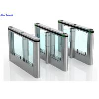 Wholesale RFID Swing Barrier Gate, Optical Turnstile Slimlane High Speed Flap Barrier from china suppliers