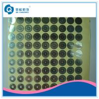 Quality Personalized Hologram Security Stickers , Medicine Anti Tamper Label Sheets for sale