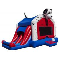 Wholesale Spotty Dog Inflatable Bounce House Jumping Bouncer 0.9mm Plato PVC For Amusement Park from china suppliers