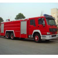 Wholesale 6x4 10m3 Fire Fighting Truck , Diesel Powered Heavy Duty Trucks from china suppliers