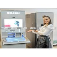 Wholesale Touch Screen Kiosk / ATM Machine Kiosk Statement Recevier With Microphone from china suppliers