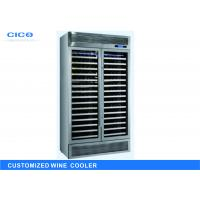 Wholesale Silent Compressor Wine Cooler Blue LED Display High Efficient Evaporator from china suppliers