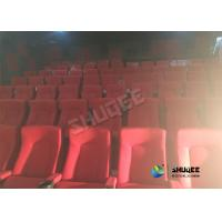 Buy cheap Special Effects Function Movie Theatre Chairs / Seats With Excited Feeling from Wholesalers