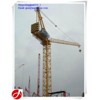 Wholesale 10t luffing jib tower cranes for construction site from china suppliers