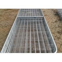 Wholesale Metal Cattle Fence Panels , Galvanized Field Fence For Livestock from china suppliers