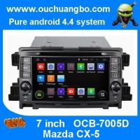Quality Ouchuangbo In dash GPS Navigation iPod USB Stereo 3G Wifi for Mazda CX-5 Android for sale