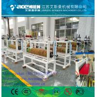 Wholesale plastic glazed roof tile making machine PVC glazed roof plate extrusion line from china suppliers