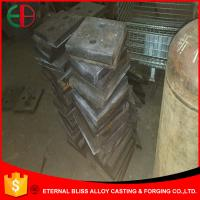 Wholesale HBW555Cr9 Square Plates High Hardness Ni-hard Castings EB10022 from china suppliers