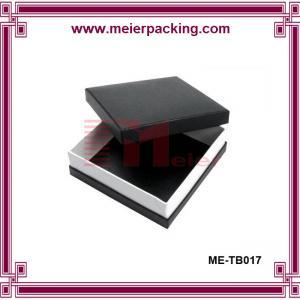 Quality Art paper black box, square printing gift paper box ME-TB017 for sale