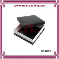 Wholesale Black cardboard paper box, clothing & apparel gift box, wallet paper box ME-TB017 from china suppliers