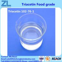 Triacetin(Glycerol Triacetate) CAS 102-76-1 Liquid Highly Used In Flavors