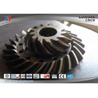 Wholesale 4340 20CrMnMo EN25 X9931 Bevel Gear Helical Gear Conic Gear Taper Gear Turning Gear from china suppliers
