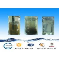 Buy cheap colorless or light yellow Liquid Heavy Metal Removal / Catcher Chemicals Non-toxic coagulant CW-15 from Wholesalers