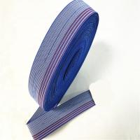 Wholesale 50mm Upholstery Sofa Elastic Webbing / Blue Elastic Furniture Straps from china suppliers