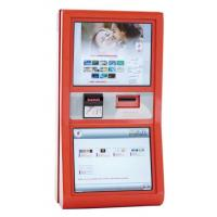Buy cheap Ergonomically And Compact Ticketing Wall Mount Kiosk With note acceptor V607 from wholesalers