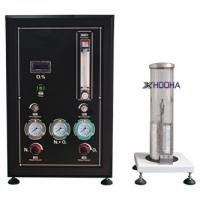 Wholesale HH61037 GB2406-2009 Wire Testing Equipment , Digital - Readout Oxygen Index Tester from china suppliers