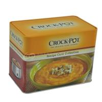 Buy cheap Food grade Empty square shape food Can / coffee tin box/tin container for tea from wholesalers