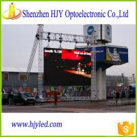 China Low Power Consumption P6 Outdoor SMD fixed billboard big led tv on sale