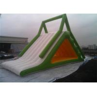 Quality Exciting Inflatable Water Slide , Inflatable Floating Water Slide From China for sale