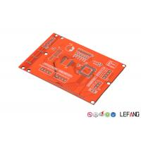 Wholesale Base Material FR 4 Industrial PCB Layout Prototype With Red Solder Mask from china suppliers