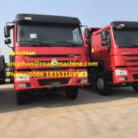 Wholesale 2017 New HOWO7 Dump Truck  6 x 4 10tires for 40T load with 12.00R20 tire from china suppliers