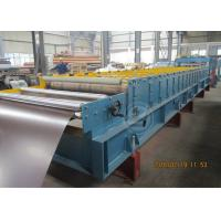 Wholesale Glazed Metal Tile Cold Roll Forming Machine with Hydraulic Punching Device from china suppliers