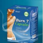 China Hot Burn 7 Slimming Capsule Weight Loss Diet Pills , Burn 7 for sale