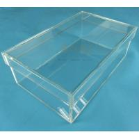 Quality Rectangular Clear Acrylic Shoe Display BoxTransparent Eyes Catching for sale