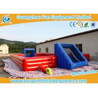 Wholesale Large Inflatable Outdoor Soccer Field / Inflatable Football Court from china suppliers