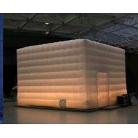 Advertising Inflatable Buildings , Emergency Shelter With Lighting Inflatable for sale