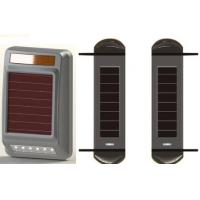 Wholesale Triple beams solar powered wireless 100m active infrared beams perimeter protection detector from china suppliers