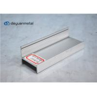 Quality Sand Blasting Silver Anodized Aluminium Profile Standard Aluminum Extruder For for sale