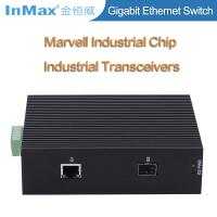 Buy cheap 2 ports 10/100/1000M Din-Rail industrial network switch & media converters from wholesalers