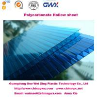 Wholesale 6mm 100% Virgin Lexan multiwall polycarbonate Hollow Sheet for carport , awning from china suppliers