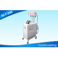 Buy cheap Three Handpieces Cryolipolysis Slimming Machine / Coolsculpting Fat Freezing Equipment from Wholesalers