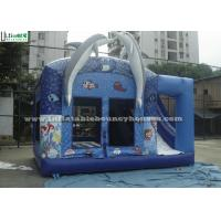 Wholesale Commercial Dolphin Inflatable Combo Bounce House Games With Sea World Animals from china suppliers
