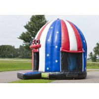 Wholesale Comercial American Flag Disco Dome Bouncer,Children Inflatable Moonwalk Bouncer from china suppliers